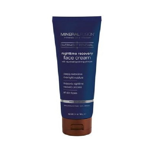 Nighttime Recovery Face Cream 3.4 Oz by Mineral Fusion
