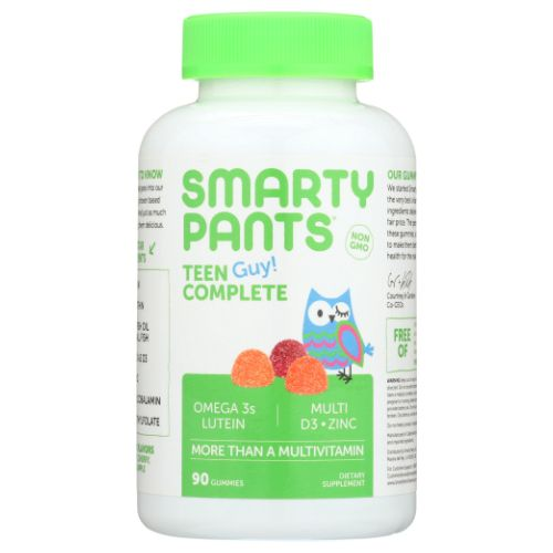 Teen Guy Complete Vitamins 90 Count by SmartyPants Teen Guy Complete Vitamins 90 Count by SmartyPants