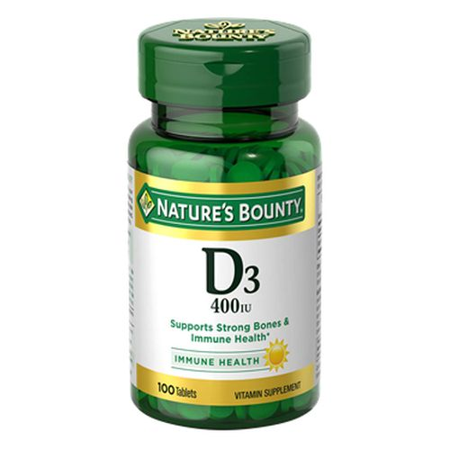 Natures Bounty Vitamin D 24 X 100 Tabs by Nature's Bounty Natures Bounty Vitamin D 24 X 100 Tabs by Nature's Bounty