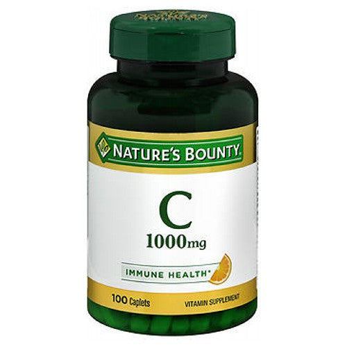 Nature's Bounty Vitamin C 24 X 100 Caplets by Nature's Bounty Vitamin SupplementPromotes Immune System Health*