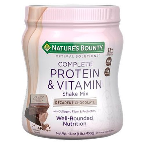 Complete Protein & Vitamin Shake Mix Chocolate 6 X 16 Oz by Nature's Bounty Complete Protein & Vitamin Shake Mix Chocolate 6 X 16 Oz by Nature's Bounty