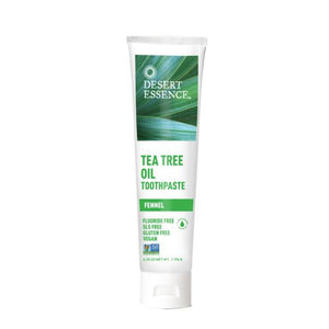 Tea Tree Oil Toothpaste - 6.25 oz
