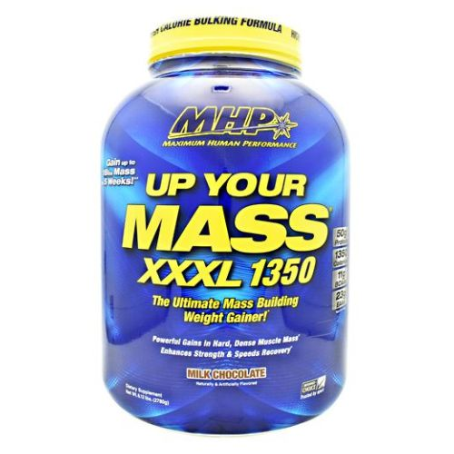 Uym XXXL 1350 Milk Chocolte 6 lbs by Maximum Human Performance High Calorie Bulking Formula. Gain Up To 18lbs Mass In 5 Weeks. The Ultimate Mass Building Weight Gainer. Powerful Gains In Hard, Dense Muscle Mass. Enhances Strength And Speeds Recovery. 50g Protein. 1350 Calories. 119g BCAAs. 23g EAAs. The Ultimate High Calorie Mass Building Weight Gainer. For Over A Decade Millions Of Athletes Have Trusted Up Your Mass To Help Them Add Extreme Muscle Mass, Strength And Speed Recovery.It Can Help Pack On Up To 18 Lbs. Of Mass in Just 5 Weeks. The Superior Quality And Quantities Of Muscle Building In UYM XXXL 1350 Makes It The Ideal Weight Gainer For Anyone Trying To Pack On Quality Mass Quickly. 50g Fast-Acting And Sustained Release Protein Blend. 1350 Nutrient Dense Calories. 250g Mass Load Carbohydrates. Zero Added Sugar Plus Healthy Carbs From Sweet Potato, Oat Fiber And Quinoa.Whey Protein Isolate And Hydrolyzed Whey Protein) Plus Slow Digesting Proteins (Micellar Casein And Milk Protein) Provides Both Fast And Long-Term Nitrogen Retention Benefits. UYM XXXL 1350 Is Also Loaded With Mega Amounts Of Glutamine And Branched Chain Amino Acids (BCAAs, Leucine, Isoleucine And Valine) In Every Serving-All Of Which Are Critical For Muscle Building, Strength And Recovery From Workouts. Mass Load Complex Carbs: The Type And Quality Of Carbohydrates Used In Any Weight Gainer Will Determine The Type And Quality Of Mass You Pack On.Dietary SupplementThe Ultimate Mass Building Weight GainerPowerful Gains un Hard, Dense Muscle Mass Enchances Strength & Speeds Recovery*