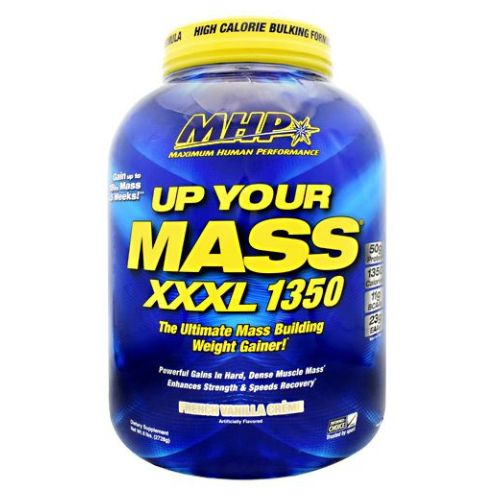Uym XXXL 1350 French Vanilla 6 lbs by Maximum Human Performance High Calorie Bulking Formula. Gain Up To 18lbs Mass In 5 Weeks. The Ultimate Mass Building Weight Gainer. Powerful Gains In Hard, Dense Muscle Mass. Enhances Strength And Speeds Recovery. 50g Protein. 1350 Calories. 119g BCAAs. 23g EAAs. The Ultimate High Calorie Mass Building Weight Gainer. For Over A Decade Millions Of Athletes Have Trusted Up Your Mass To Help Them Add Extreme Muscle Mass, Strength And Speed Recovery.It Can Help Pack On Up To 18 Lbs. Of Mass in Just 5 Weeks. The Superior Quality And Quantities Of Muscle Building In UYM XXXL 1350 Makes It The Ideal Weight Gainer For Anyone Trying To Pack On Quality Mass Quickly. 50g Fast-Acting And Sustained Release Protein Blend. 1350 Nutrient Dense Calories. 250g Mass Load Carbohydrates. Zero Added Sugar Plus Healthy Carbs From Sweet Potato, Oat Fiber And Quinoa.Whey Protein Isolate And Hydrolyzed Whey Protein) Plus Slow Digesting Proteins (Micellar Casein And Milk Protein) Provides Both Fast And Long-Term Nitrogen Retention Benefits. UYM XXXL 1350 Is Also Loaded With Mega Amounts Of Glutamine And Branched Chain Amino Acids (BCAAs, Leucine, Isoleucine And Valine) In Every Serving-All Of Which Are Critical For Muscle Building, Strength And Recovery From Workouts. Mass Load Complex Carbs: The Type And Quality Of Carbohydrates Used In Any Weight Gainer Will Determine The Type And Quality Of Mass You Pack On.Dietary SupplementThe Ultimate Mass Building Weight GainerPowerful Gains un Hard, Dense Muscle Mass Enchances Strength & Speeds Recovery*