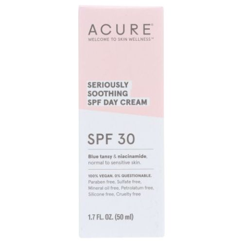 Soothing SPF 30 Face Cream 1.7 Oz by Acure