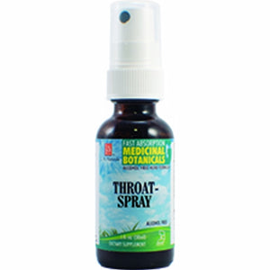 Throat Soothe Glycerine Spray 1 Oz by L. A .Naturals