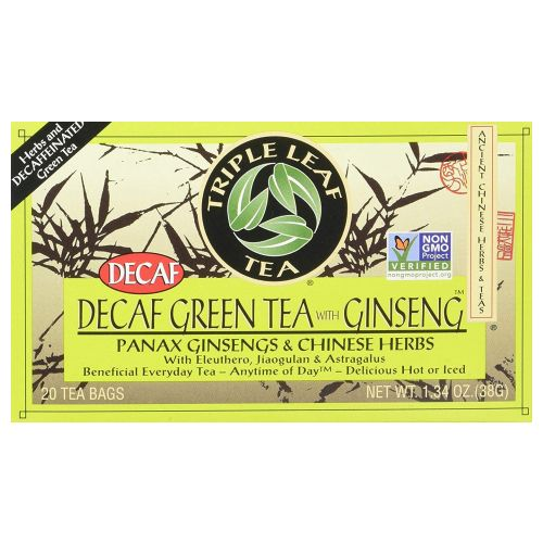 Decaf Green Tea With Ginseng