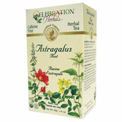 Organic Astragalus Root Tea 40 grams by Celebration Herbals
