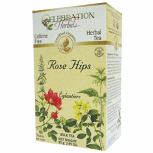 Organic Rose Hip Seedless Tea 60 grams by Celebration Herbals