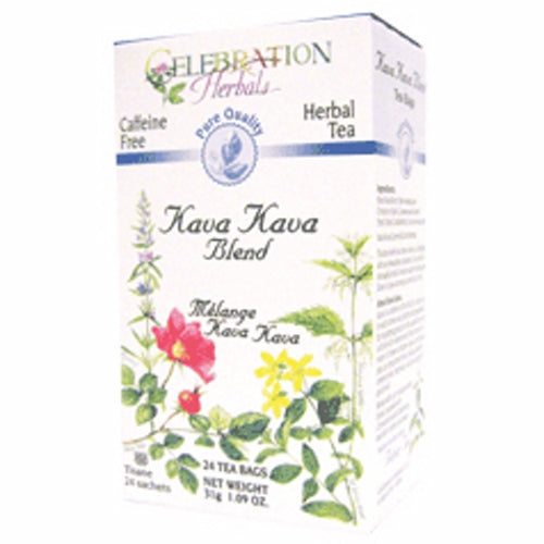Kava Kava Blend Tea 24 Bags by Celebration Herbals