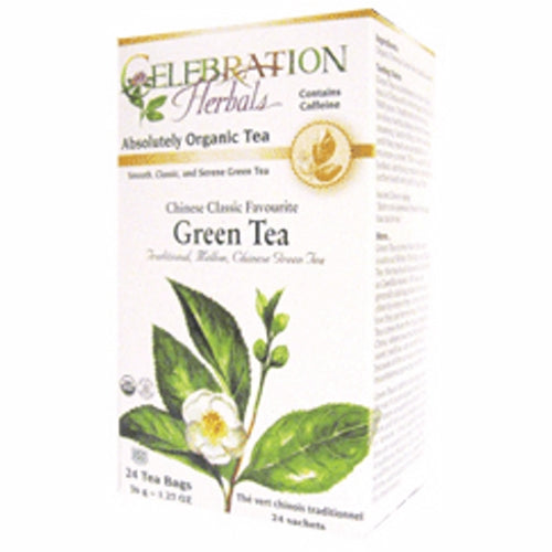 Chinese Classic Favorate Green Tea 24 Bags by Celebration Herbals
