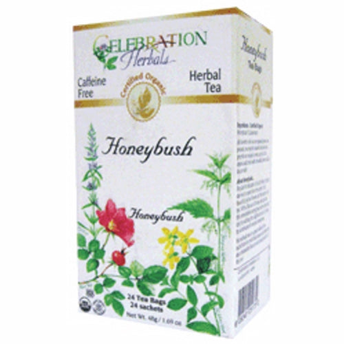 Organic Honeybush Tea 24 Bags by Celebration Herbals