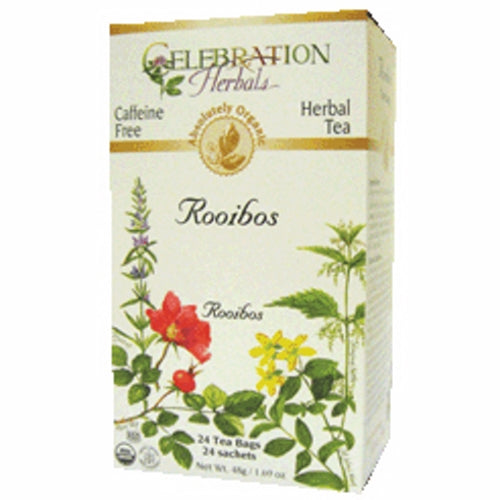 Organic Rooibos Red Tea 24 Bags by Celebration Herbals