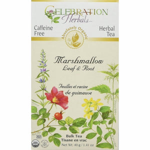 Organic Marshmallow Leaf & Root Tea 40 grams by Celebration Herbals