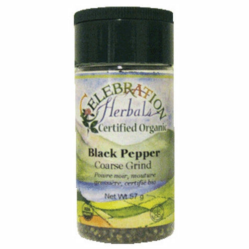 Black Pepper Coase Grind 50 grams by Celebration Herbals