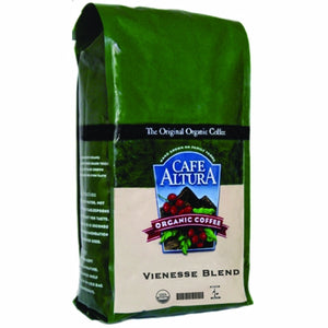 Viennese Blend Whole Bean Coffee 1.25 lbs by Cafe Altura