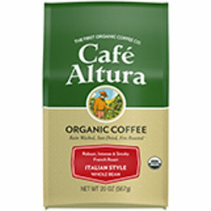 Italian Roast Whole Bean Coffee 1.25 lbs by Cafe Altura