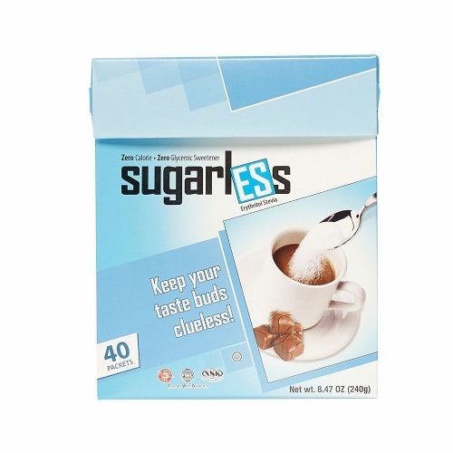 Sugarless Sweetener 40 Count by Health Garden
