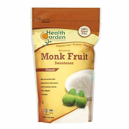 Monk Fruit Sweetener 1 lb by Health Garden