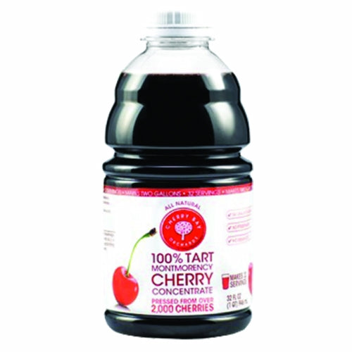 100% Tart Montmorency Cherry Concentrate 32 Oz by Cherry Bay Orchards