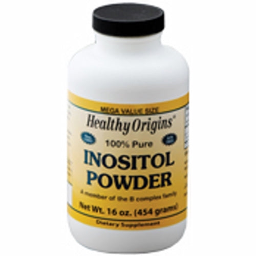 Inositol Powder 16 Oz by Healthy Origins