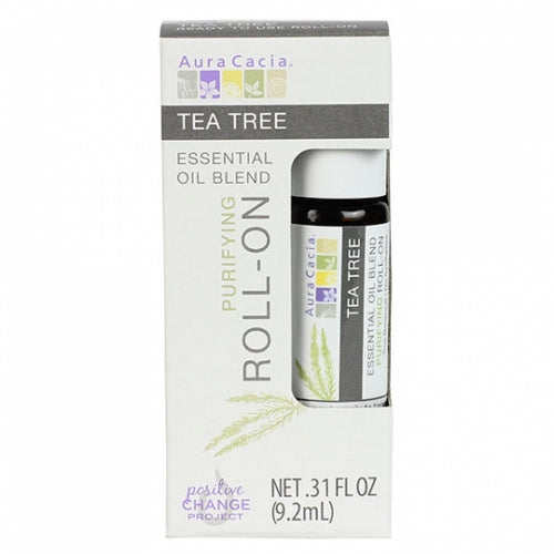 Essential Oil Blend Purifying Roll On Tea Tree .31 Oz by Aura Cacia