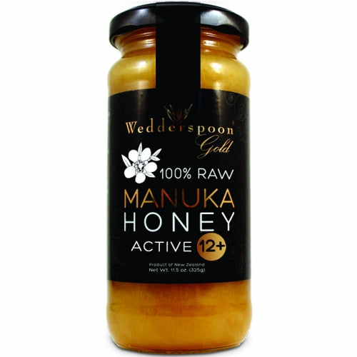 Raw Manuka Honey Kfactor 12 11.5 Oz by Wedderspoon