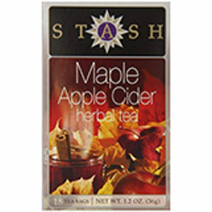 Maple Apple Cider Herbal Tea 18 Count by Stash Tea