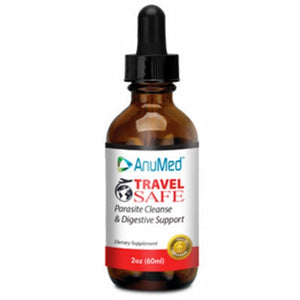 Travel Safe Parasite Cleanse & Digestive Support 1 Oz by Anumed International