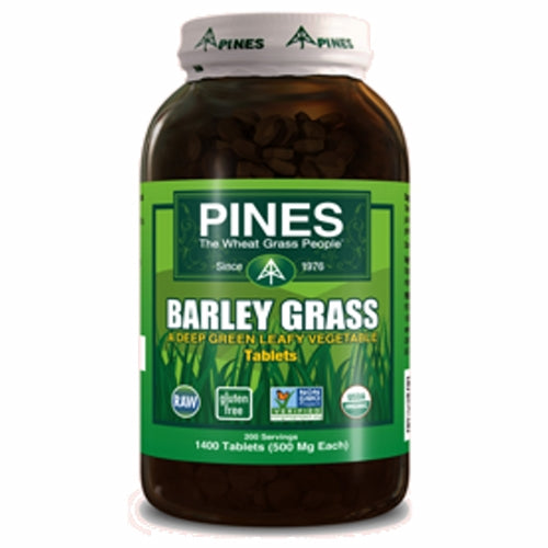 Barley Grass Tablets 1400 Count by Pines Wheat Grass Barley Grass Tablets 1400 Count by Pines Wheat Grass
