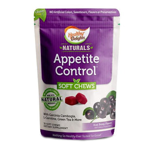 Natural Appetite Control 30 Chews by Healthy Delights