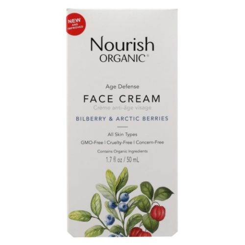 Age Defence Face Cream 1.7 Oz by Nourish