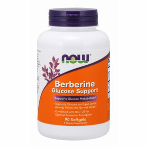 Berberine Glucose Support 90 Softgels by Now Foods