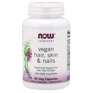 Vegan Hair, Skin & Nails