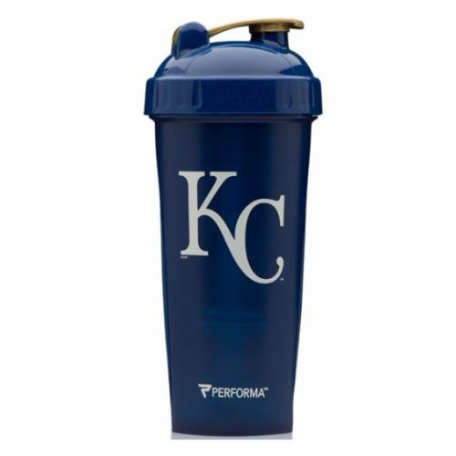 Shaker Cup City Royals 28 Oz by PerfectShaker Perfect Shaker Hero Series Shaker Cup lets you rehydrate and fuel like your favorite hero. The shaker cup makes smooth and delicious mixes everytime, in its leak-free, extra strong, BPA-Free bottle design that's dishwasher safe.PerfectShaker crafts the world's best 100% leak-free shaker bottles and mixing bottles. Mix protein, greens, waffle batter, sauces, gravy or anything really! BPA-free and Dishwasher safe.