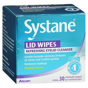 Systane Lid Wipes Eyelid Cleanser