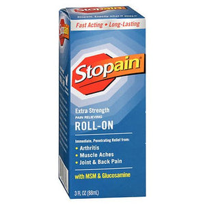 Stopain Extra Strength Pain Relieving Roll-On 3 Oz by Stopain
