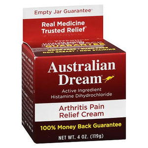 Australian Dream Arthritis Pain Relief Cream 4oz