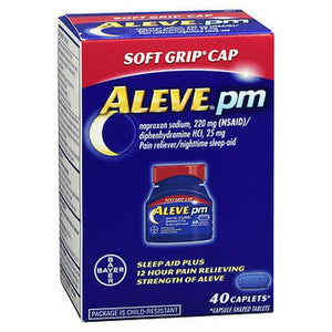 Aleve PM Caplets Soft Grip Cap