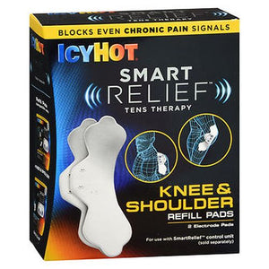 Icy Hot Smart Relief Tens Therapy Refill Pads Knee & Shoulder