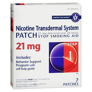 Habitrol Nicotine Transdermal System Patches Step 1