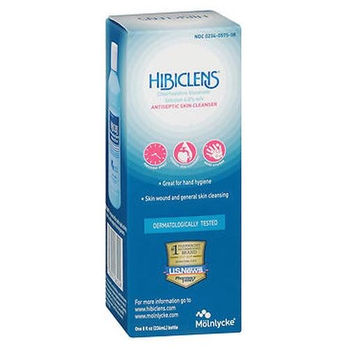 Hibiclens Antiseptic Skin Cleanser 8 Oz by Hibiclens Antimicrobial skin cleanser helps reduce bacteria that potentially can cause disease. For skin wound and general skin cleansing. Surgical hand scrub. Healthcare personnel handwash. Great for hand hygiene. Persistent effect with rapid activity against a wide range of microorganisms. Dermatologically tested.1 pharmacist recommended brand.