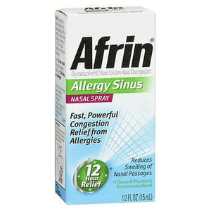Afrin Allergy Sinus Nasal Spray
