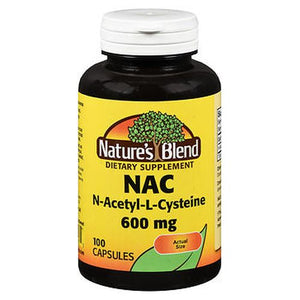 Nature's Blend Nac Capsules 100 Tabs by Nature's Blend