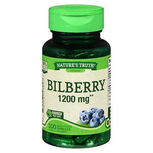 Nature's Truth Bilberry Quick Release Capsules