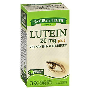 Nature'S Truth Lutein Plus Zeaxanthin & Bilberry Quick Release Softgels