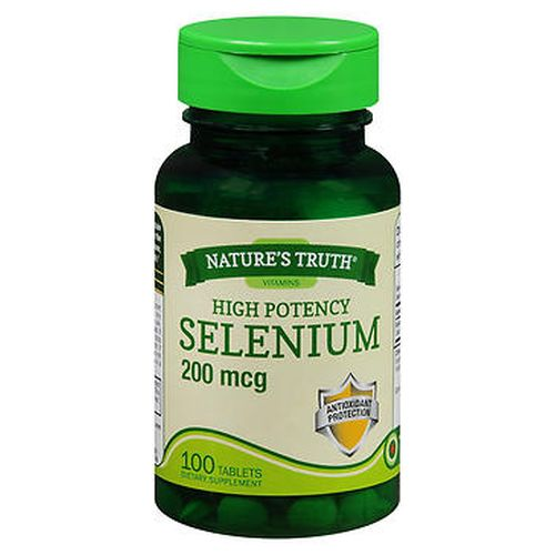 NatureS Truth High Potency Selenium Tablets 100 Tabs by Natures Truth NatureS Truth High Potency Selenium Tablets 100 Tabs by Natures Truth