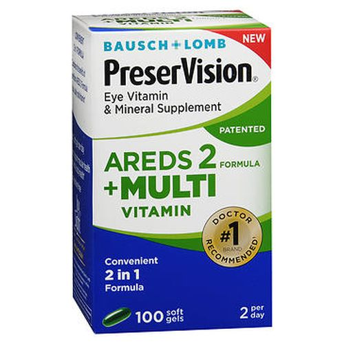 Bausch + Lomb PreserVision Eye Vitamin & Mineral Supplement Softgels 100 Tabs by Bausch And Lomb Bausch + Lomb PreserVision Eye Vitamin & Mineral Supplement Softgels 100 Tabs by Bausch And Lomb