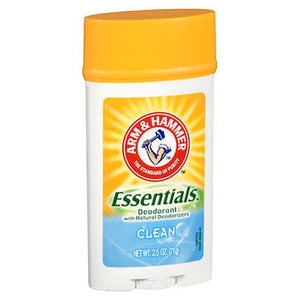 Arm & Hammer Essentials Deodorant with Natural Deodorizers Clean