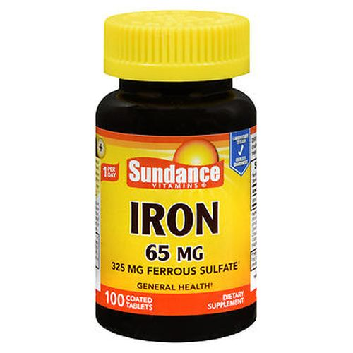 Sundance Vitamins Iron Tablets 100 Tabs by Natures Truth Sundance Vitamins Iron Tablets 100 Tabs by Natures Truth